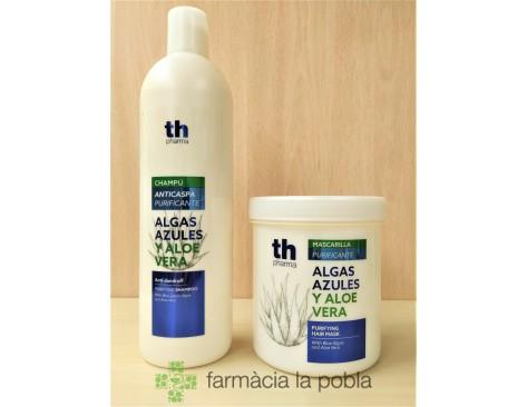 Th Pharma Champú y Mascarilla Algas azules