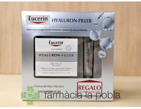 Pack Eucerin Hyaluron Filler + Contorno de ojos