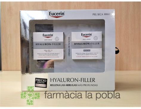 Pack Eucerin Hyaluron FIller piel seca
