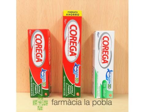 Corega crema fijadora para prótesis dentales