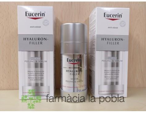 Eucerin Hyaluron Peeling y Sérum Noche