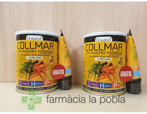 Pack Drasanvi Collmar Magnesio Cúrcuma sabor limón + Collmar cremi-gel con efecto frío