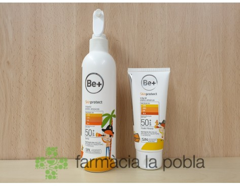 Pack Be+ Skin Protect Spray + Fluido Mineral SPF 50+