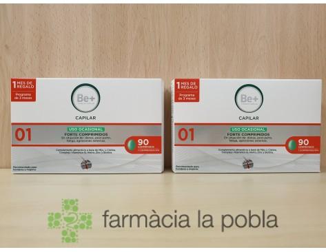 Be+ Ciencia Capilar Forte Comprimidos - Uso Ocasional