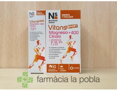 NS Vitans Sport Magnesio +400 Citrato
