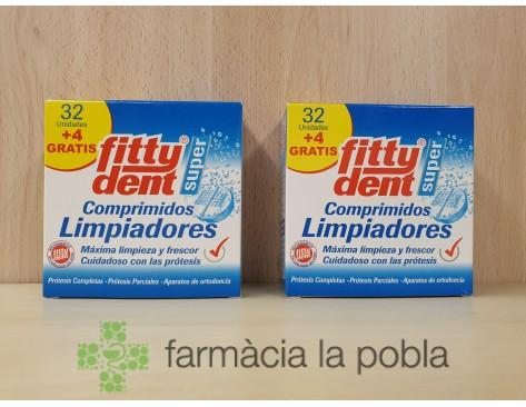Fitty Dent Super - Comprimidos limpiadores