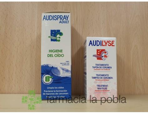 Tratamientos para el oído Audispray + Audilyse