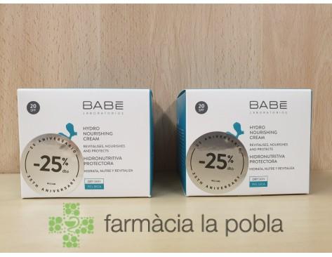 Babe crema hidronutritiva protectora SPF20