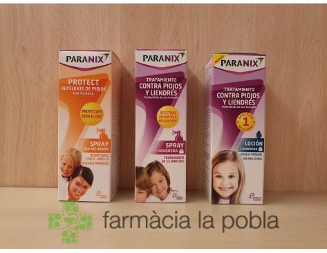 Pack Paranix Tratamiento Capilar Antipiojos y Liendres