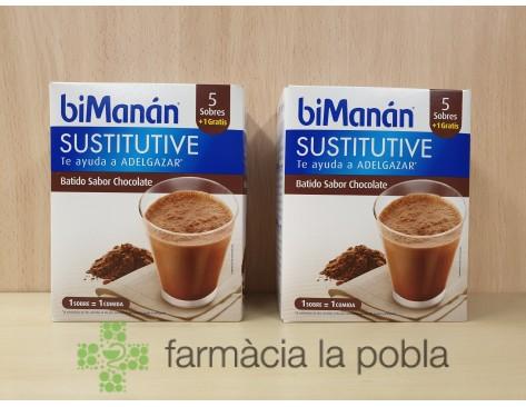 biManán Sustitutive Batidos