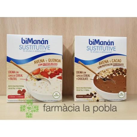 biManán Sustitutive Cremas