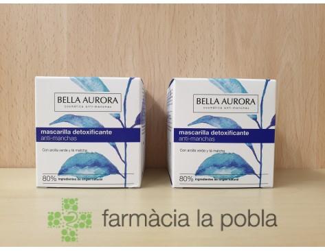 Pack Bella Aurora - Mascarillas detoxificante anti-manchas