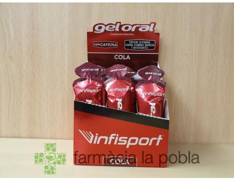 Infisport Gel Oral Cola con cafeína